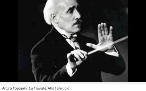 Verdi Traviata prélude acte 1 Toscanini