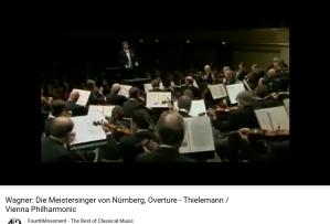 Wagner les Maîtres chanteurs ouverture