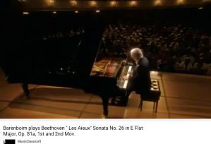 Beethoven les Adieux mvt 1
