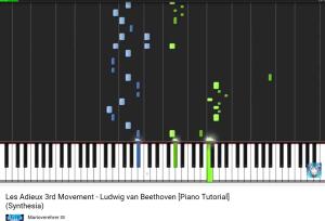 beethoven sonate les adieux 3e mouvement
