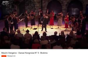 Brahms danse hongroise 5