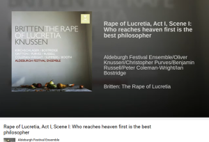 Britten The rape of Lucretia Who reaches heaven first