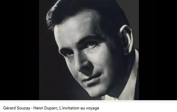 Duparc Baudelaire Invitation au voyage
