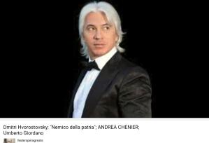Giordano Andrea Chenier Nemico della patria