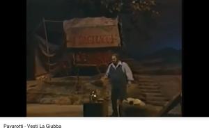 Leoncavallo Paillasse Pavarotti