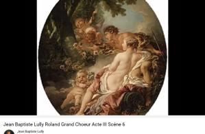 Lully Roland grand choeur acte III scène 6
