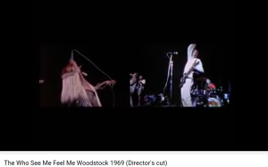 The Who Tommy See Me Feel Me Woodstock