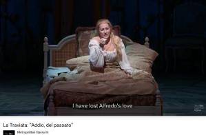 Verdi Traviata adio del passato Diana Damrau