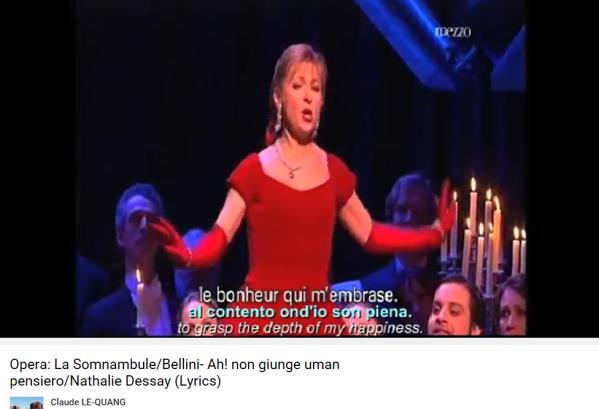 Bellini La Somnambule Ah non giunge Dessay