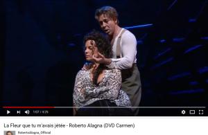 Bizet Carmen la fleur Alagna