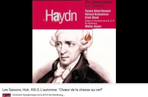 Haydn les Saisons l'automne