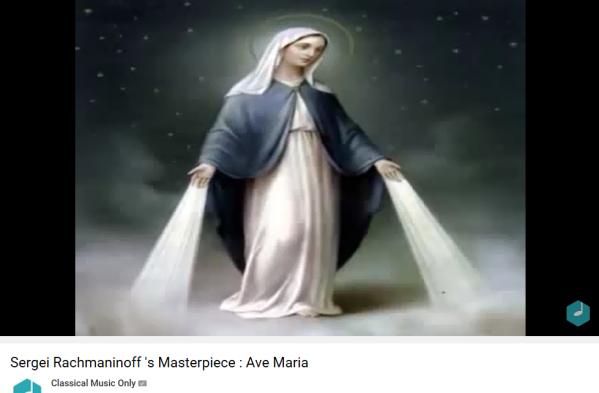 Rachmaninoff Ave Maria