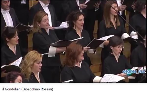 Rossini il Gondolieri