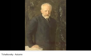 Tchaikovski Chant d'automne