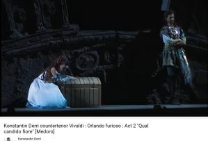 Vivaldi Orlando furioso Qual candido fiore