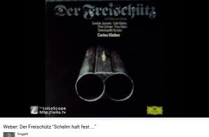 Weber Freischutz Acte II duo Schelm, halt fest