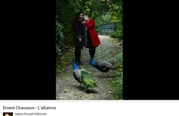 Chausson Baudelaire l'Albatros