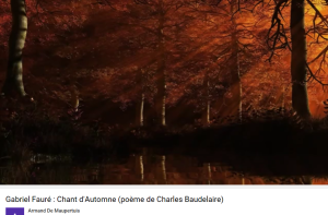 Fauré Baudelaire Chant d'automne