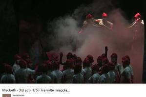 Verdi Macbeth Tre volte miagola
