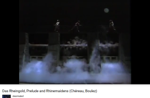 Wagner Rheingold prélude Boulez