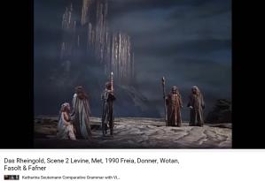 Wagner Rheingold scène 2