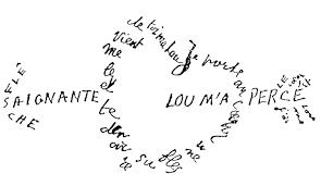 Apollinaire Calligramme