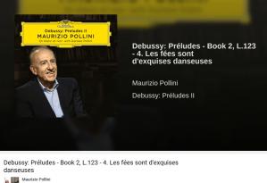 Debussy préludes les fées sont d'exquises danseuses
