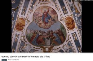 Gounod Messe de Sainte Cécile Sanctus