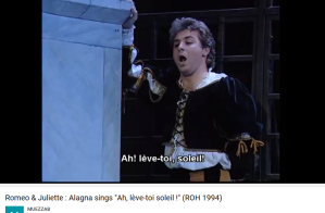 Gounod Roméo et Juliette Ah lève toi soleil