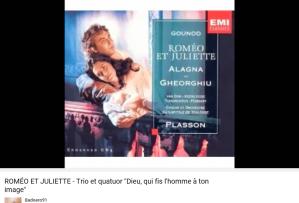 Gounod Roméo et Juliette Dieu, qui fis l'homme