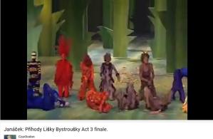 Janacek la petite renarde rusée Acte III final