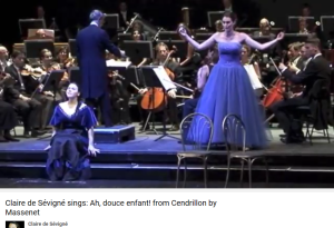 Massenet Cendrillon Air de la fée