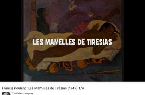 Poulenc Apollinaire les Mamelles de Tirésias