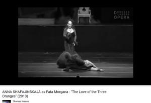 Prokofiev L'amour des 3 oranges Fata Morgana