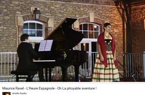 Ravel l'heure espagnol pitoyable aventure