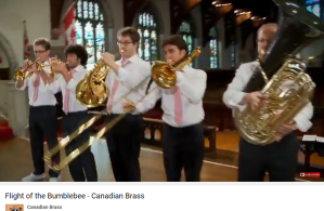 Rimski Vol du bourdon Canadian Brass