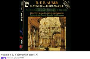 Auber Gustave III minuit