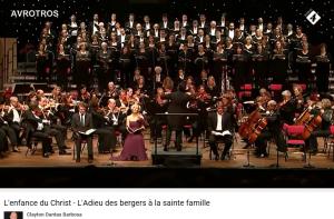 Berlioz l'Enfance du Christ