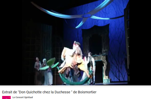 Bodin de Boismortier Don Quichotte