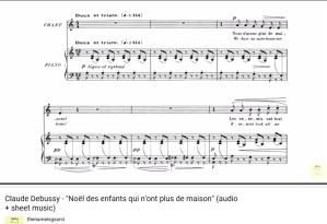 Debussy Noël des enfants...