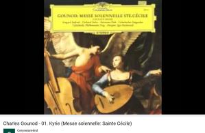 Gounod messe de Sainte-Cécile