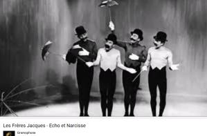 Les Frères Jacques Écho et Narcisse
