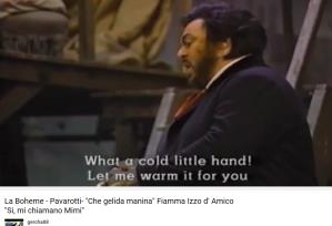 Puccini La Bohème Si, mi chiamano Mimi