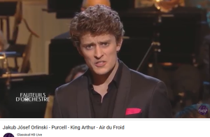 purcell king arthur cold song Orlinski