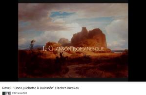 Ravel Don Quichotte à Dulcinée