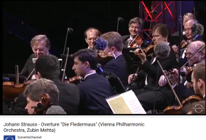 Strauss J Fledermaus Ouverture