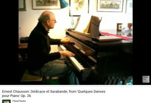 Chausson Quelques danses pour piano