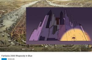 Geshwin Rhapsody in blue Fantasia 2000