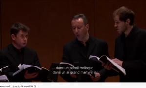 Monteverdi lamento d'Ariane