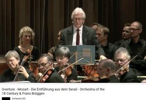 Mozart l'enlèvement au sérail ouverture